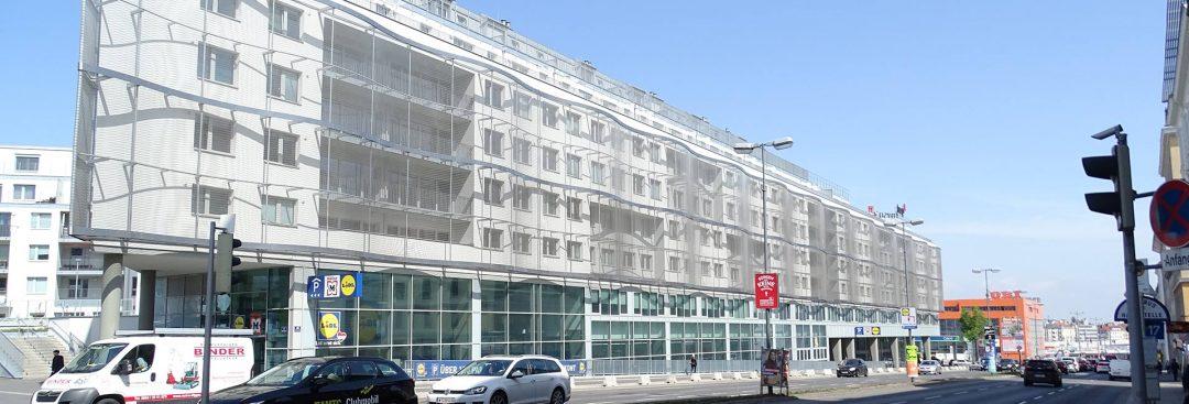 WHA und Gewerbegebäude Triesterstraße 40